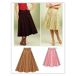 Kwik Sew Misses Full Skirts (3852) Pattern