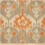 0284390 Richloom Ikat Marlena Orange