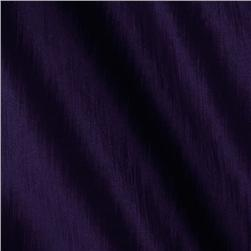 Soiree Stretch Taffeta Iridescent Dark Purple