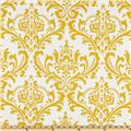 Premier Prints Traditions Slub Yellow/White