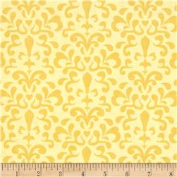 Riley Blake Ashbury Heights Damask Yellow