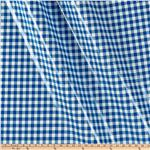 L-301 Oil Cloth Gingham Blue