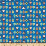 0279748 Tiny Prints Monkies Blue