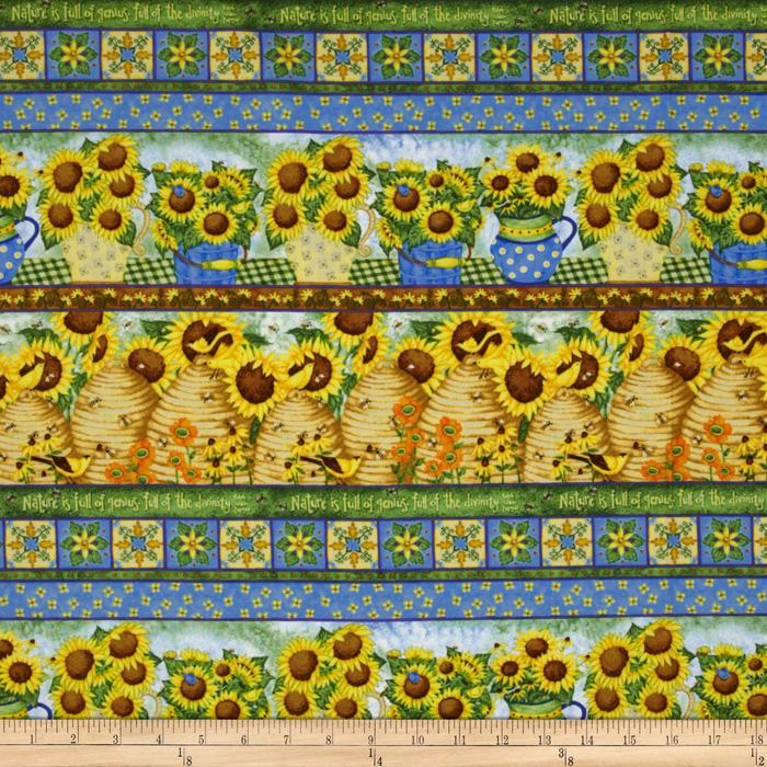Sunny  Blossoms Sunflower Shelves Yellow