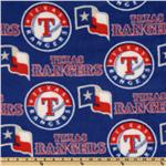 CW-815 MLB Fleece Texas Rangers Toss Red/White/Royal