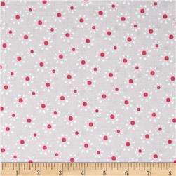 Cordero Small Tossed Flower Grey