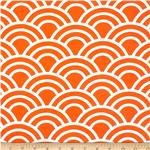 0286751 Michael Miller Bekko Home Decor Swell Tangerine