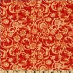 FN-496 Tonal Scroll Orange