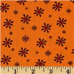 Silk Road Small Flowers Orange