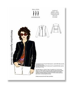 Hot Patterns Metropolitan Agostini Moto Jacket Pattern