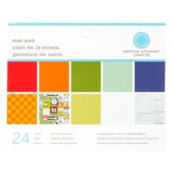 "Martha Stewart Crafts Mat Pad 4 3/4"" X 6 3/4"" Travel"