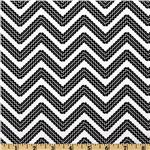 Cone Zone Chevron White/Black
