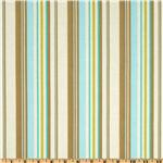 Amy Butler Daisy Chain Happy Stripe Grey