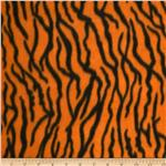 237153 Printed Fleece Tiger Orange