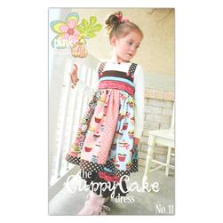 The Pink Fig Cuppy Cake Girls Dress Pattern