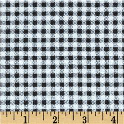 Camelot Flannel Gingham Black
