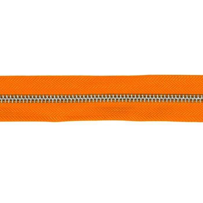 Riley Blake 1 1/4&#39;&#39; Zipper Trim Orange