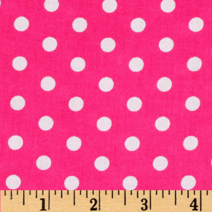 Forever Small Polka Dot Fuschia