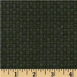 Moda Wool & Needle Flannel II Nubby Spruce