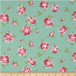 Tanya Whelan Rosey Little Roses Teal