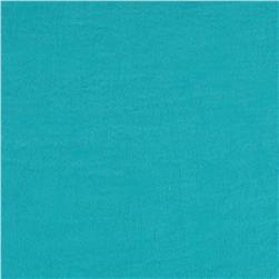 Soft Crush Crepe De Chine Teal