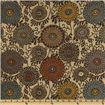 0266821 Marcovaldo Moscatel Jacquard Chenille Walnut