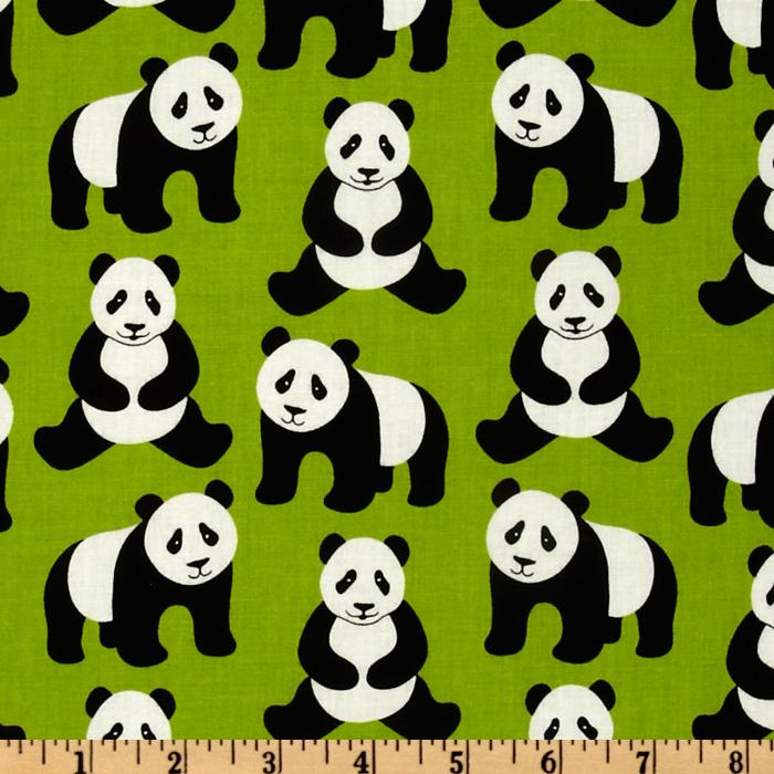 Menagerie Panda Bear Lime