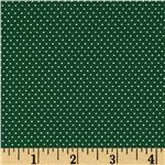 FO-167 Pin Dot Forest Green
