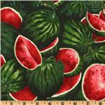 DL-253 Farmer John&#39;s Marketplace II Watermelon Green