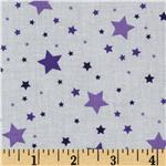 Stars Purple/White
