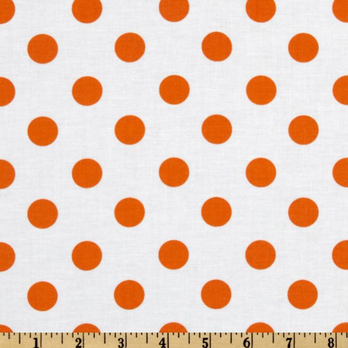 It&#39;s A Shore Thing Polka Dot Orange