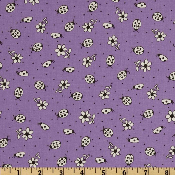 Lady Bugs Purple