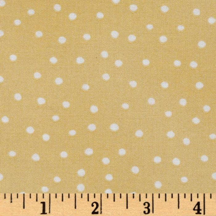 Loralie Designs Hey Cupcake Pretty Dots Yellow