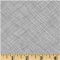 "108"" Wide Quilt Backing Widescreen Grid Grey"
