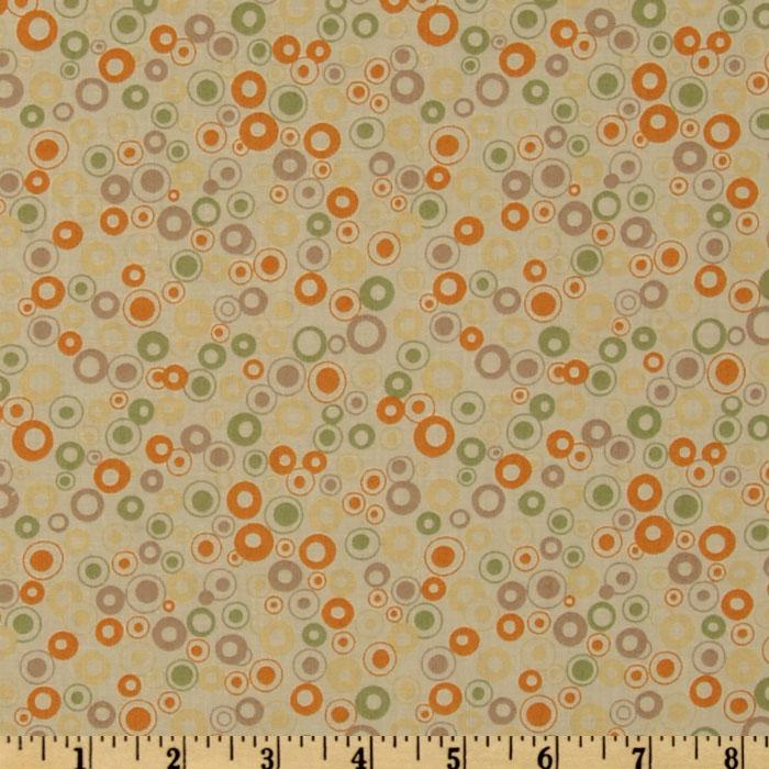Mackinaw Island Dots Gold/Tan
