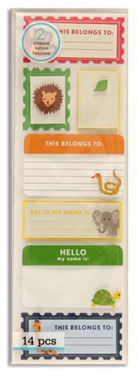 Martha Stewart Crafts Stickers Hello Animals