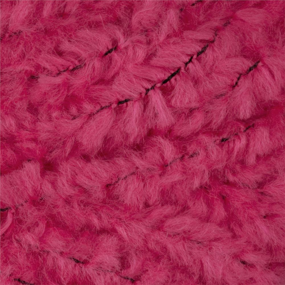 Lion Brand Luxe Fur Yarn (101) Pink