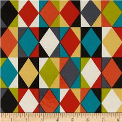 Sierra Slicker Laminate Diamond Rows Retro