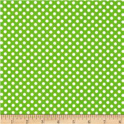 Spot On II Mini Dots Green/White