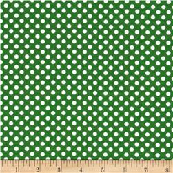 Spot On II Mini Dots Dark Green/White