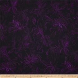 Corsica Abstract Floral Purple