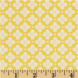 Riley Blake Sidewalks Hopscotch Yellow