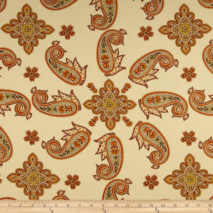 Waverly Talcott Twirl Paisley Topaz