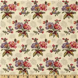 Moda Collection For A Cause Mill Book Series circa 1835 Bouquet Cream