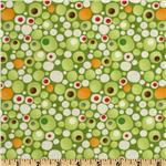 Moda Ten Little Things Dots Lime