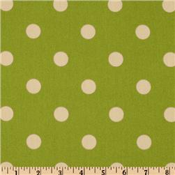 Premier Prints Indoor/Outdoor Polka Dot Greenage
