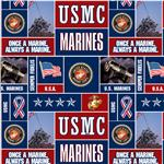 Military Fleece U.S. Marines Blocks