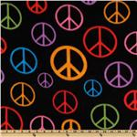 WinterFleece Peace Black/Multi