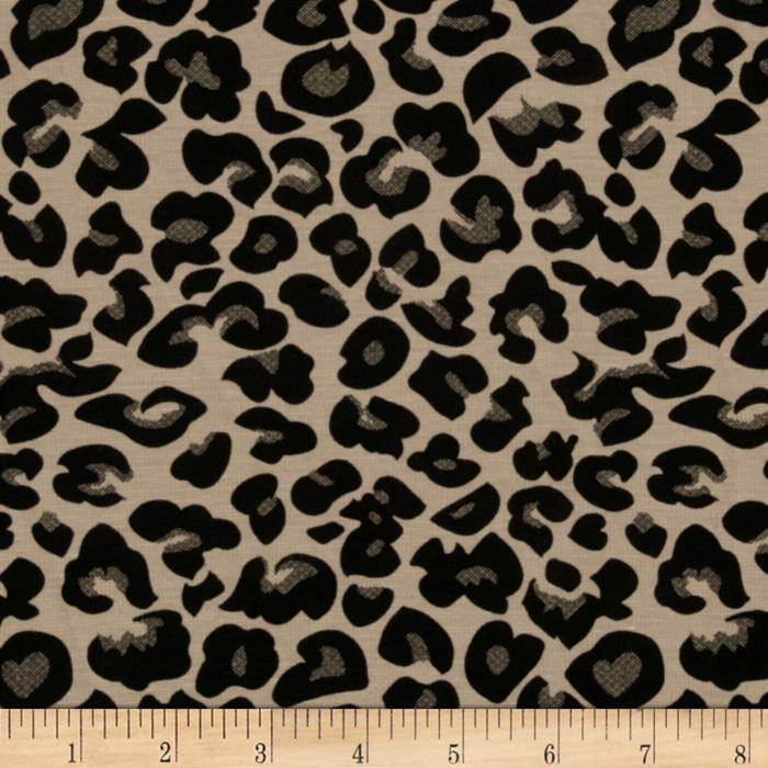 Ponte de Roma Knit Leopard Putty/Black