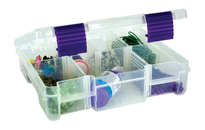 Creative Options Embellishment Box Craft Organizer Clear